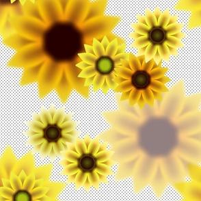 SummerSunflowers_ClassicPolkadotwhite
