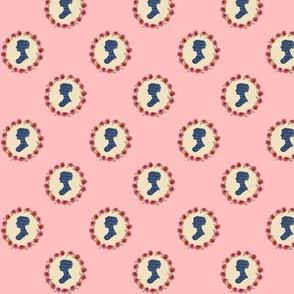 Jane Austen polka dot
