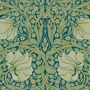 William Morris ~ Pimpernel ~ Crane ~ Large