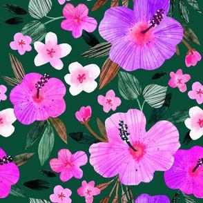 Watercolour Hawaiian Lush