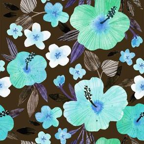 Watercolour Hawaiian Retro
