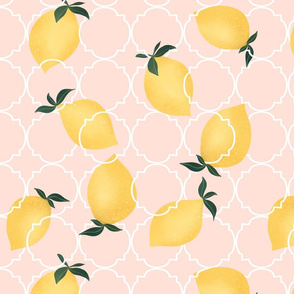 Little Lemons 8x8 inch