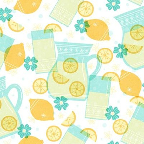 Cute Lemonade - Teal