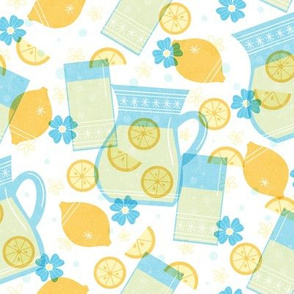 Cute Lemonade - Blue
