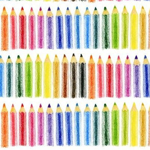 Coloured Pencil Coloured Pencils!