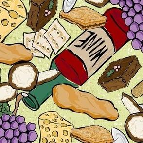 Wine and Snacks ©Julee Wood