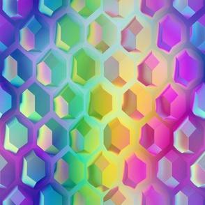 iridescent crystal gems XL