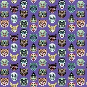 Halloween Masquerade Purple Micro