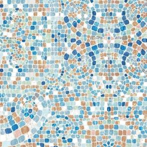 shades of summer mosaic