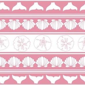 Whale Tail Stripe Pink