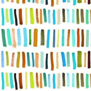 Brush Lines - Color Set 2 Autumn