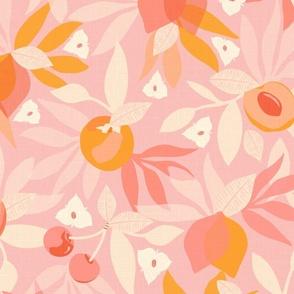 Stone Fruit & Citrus Patel Pink