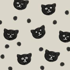 Black Kitten Heads