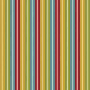 Happy Kitchen Thin Stripes