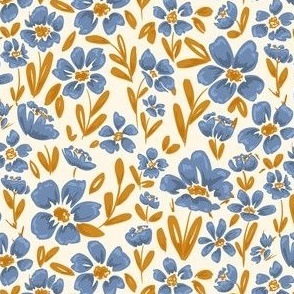 blue_yellow_flowers_poppies