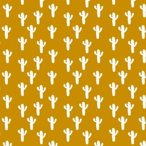 Micro Mustard Desert Cactus