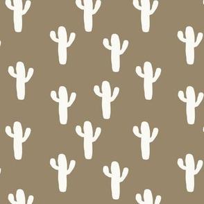 Small Clay Desert Cactus