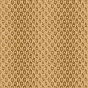 foulard with flower beige light 2064-31