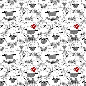 Just Sheep (White)