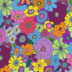 Mellower Moddy-Mod Floral - MEDIUM scale