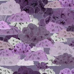 Stormy_weather_shibori_clouds_sashiki_stitching_with_rain_fingers_purple_lilac_pink_gray_on_deep_dusty_lilac