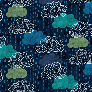 Rainy Day Clouds