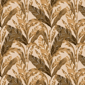 Tropical Pattern Leaves