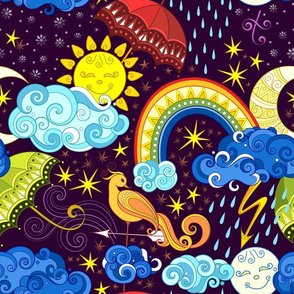 14 inch Fairytale weather forecast print 1_1-1