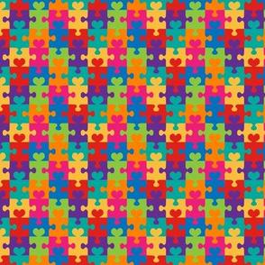 Puzzle Hearts - Small