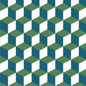 large qbert repeat green-01