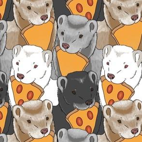 Large Pizza Ferrets