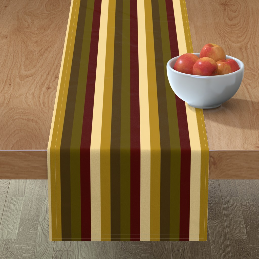 Minorca Table Runner featuring WinterTapestry by jozanehouse