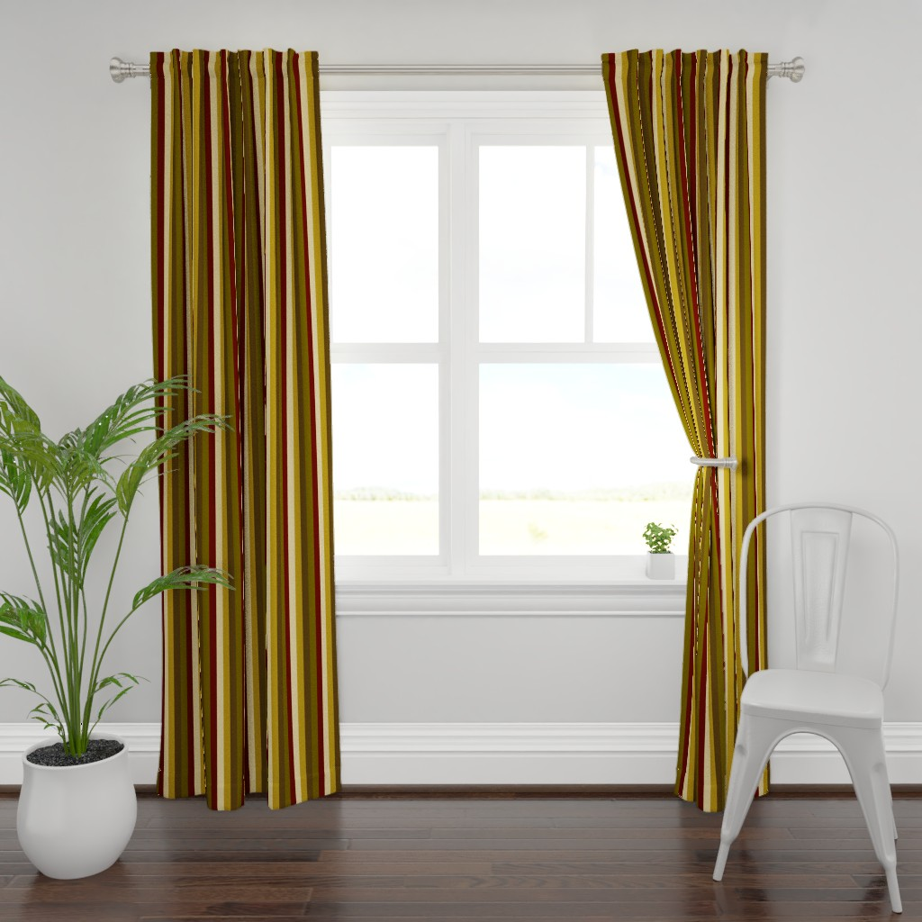 Plymouth Curtain Panel featuring WinterTapestry by jozanehouse