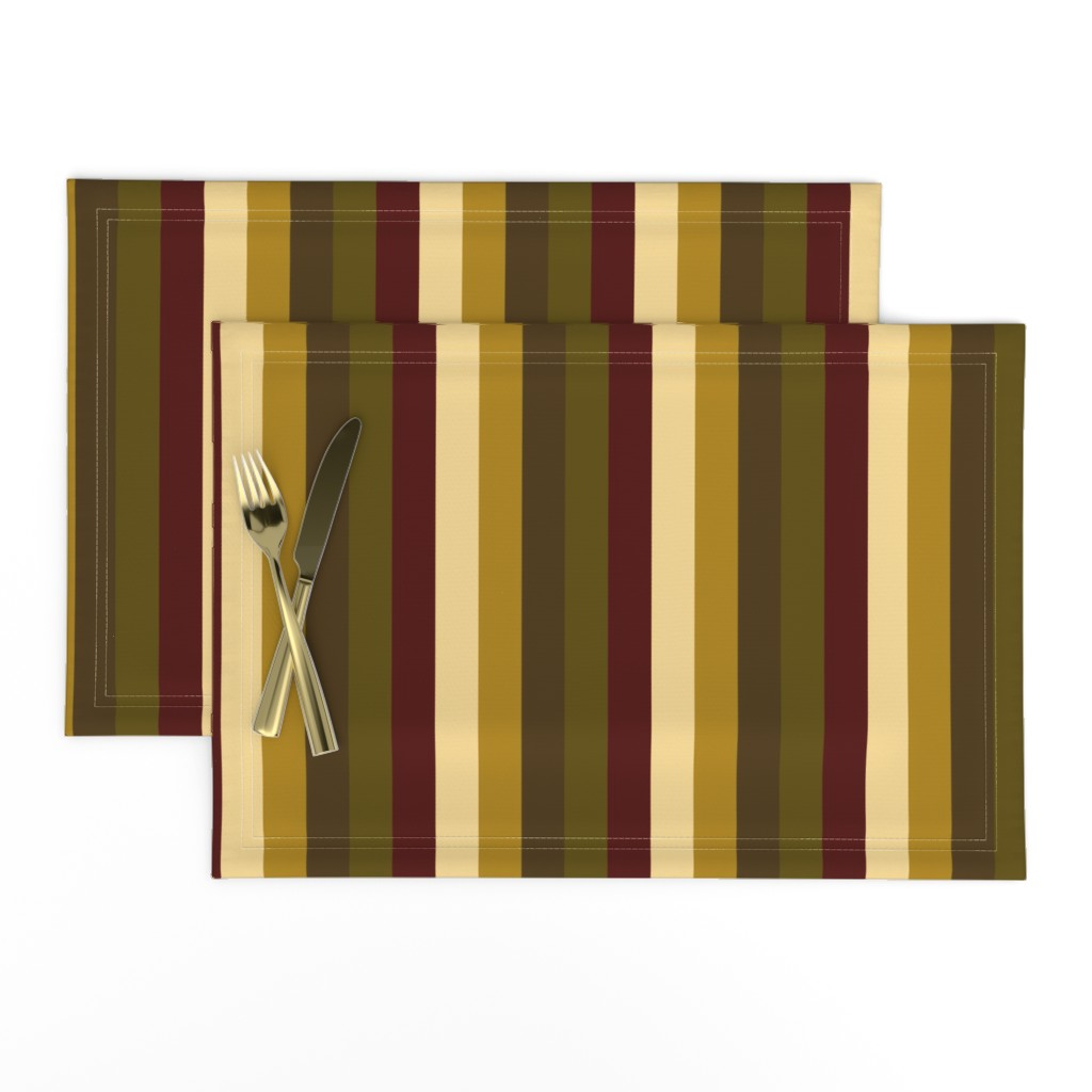 Lamona Cloth Placemats featuring WinterTapestry by jozanehouse