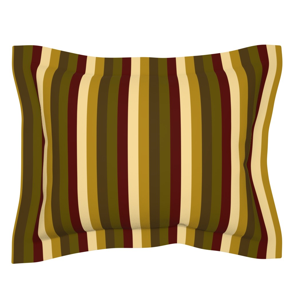 Sebright Pillow Sham featuring WinterTapestry by jozanehouse