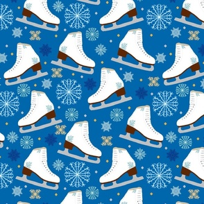 Ice Skate Snowflake Winter