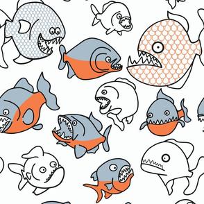 Do piranhas bite?