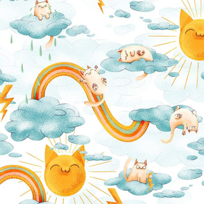 Weather Cats big scale