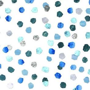 confetti - blues