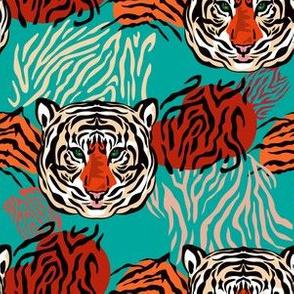 Tiger pattern 79-01