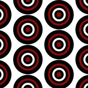 Bullseye on White, Hunting Target Circles
