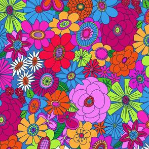 Brighter Moddy-Mod Floral - MEDIUM scale