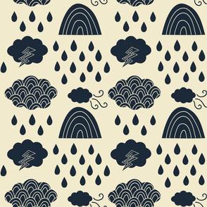 Japanese rain clouds