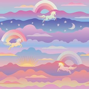 Cloudy with a chance of unicorns