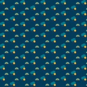 Weather patterns - Windy, rainy & sunny da