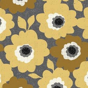 Gold flowers-custom