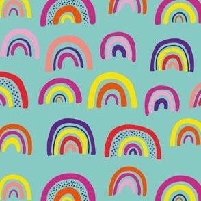 Over the Rainbow: Mint/Aqua