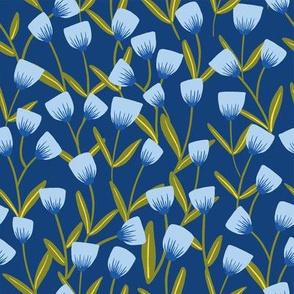 Spring Bloom - Blue