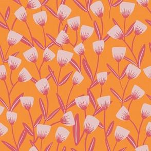 Spring Bloom- O orange