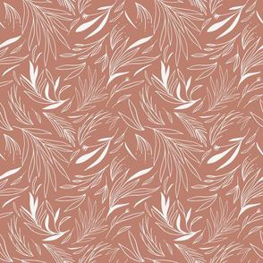 Ethereal Leaves Sienna